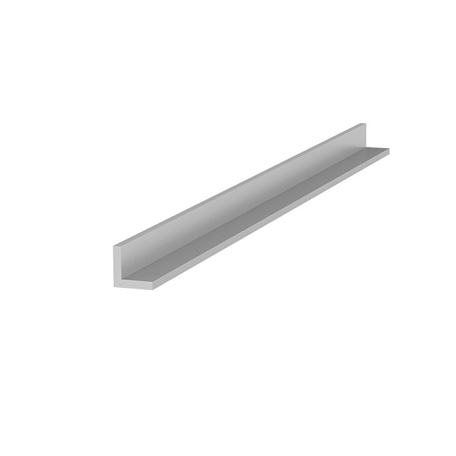 L-SHAPE ALUMINUM PROFILE 10x10 ANODISED